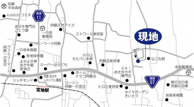 c 地図 一の宮町